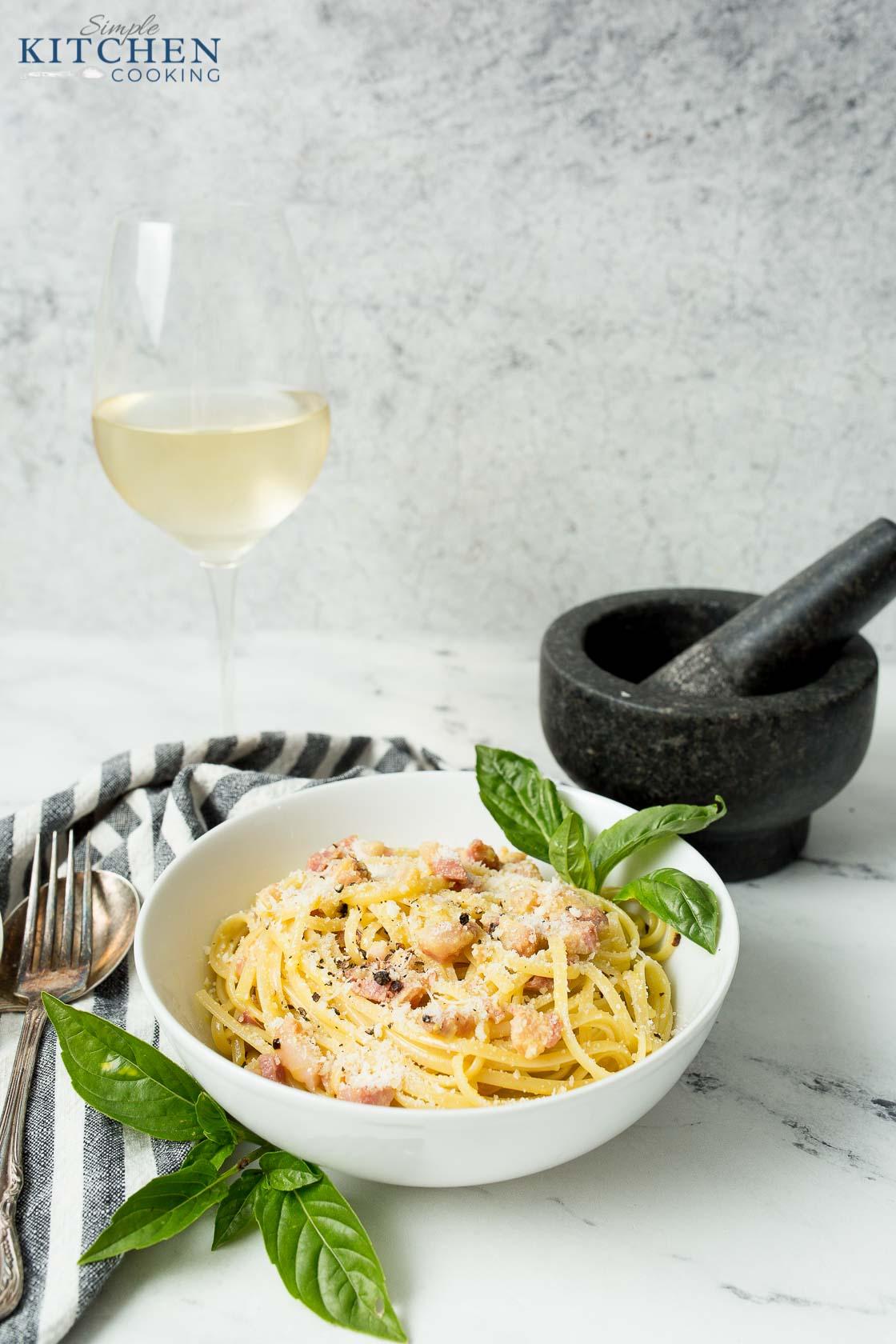 How to Make Pasta Carbonara Recipe